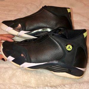 Men's Nike Air 14 Retro Black/white-vivid Green